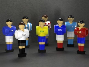Table Soccer figures