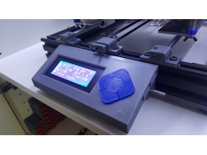 AM8 Display mount for Anet A8 LCD2004
