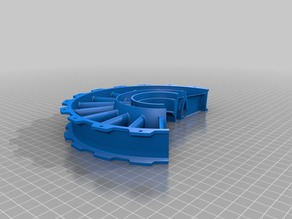 Smaller Fan Stator Casing and Support With Supports