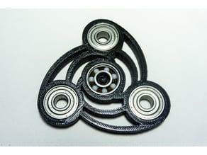 Fibonacci Spiral Fidget Spinner
