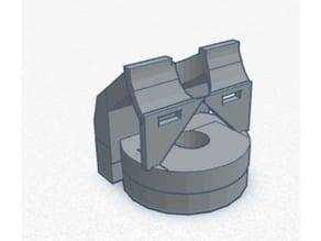 Monoprice MP Select Mini V2 Flexible Filament Guide v2.6 - 3.5mm base, 3mm feed hole