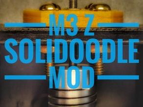 Solidoodle 2 M3 Z-Axis Nut Holder