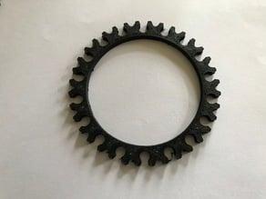Eurotrax bearing ring  /  lager ring cat rack