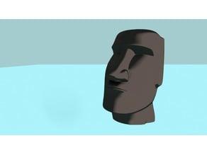 Easter Island Head moai
