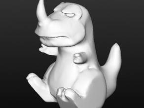 Grumpy Carnotaurus