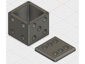 Six-Sided (d6) Dice Storage Box