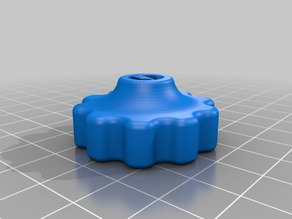 Z knob for TR8x8 with printed thread
