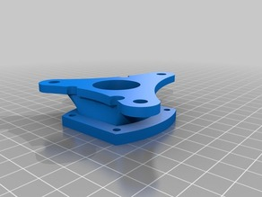 E-Rod motor adapter plate w/ cog and rack mounting brackets