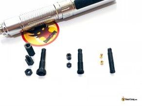 M2 & M3 Nut Screwdriver bit for ES120 - 4mm Hex Shank