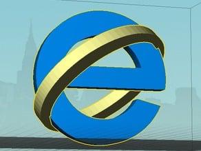 Microsoft Internet Explorer icon (dual)