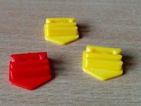 SCAD Filament Clip