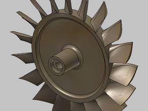 Turbine Wheel for FD3-64
