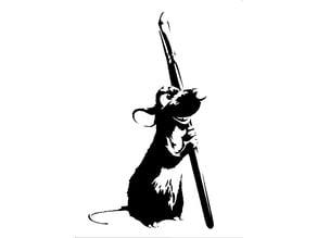 Ratatouille Remmy stencil