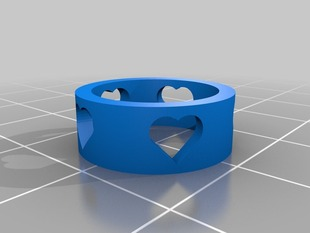 My Customized Heart Ring