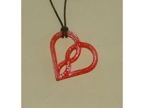 Love Infinity Pendant