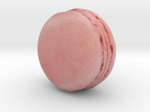 The Strawberry Macaron