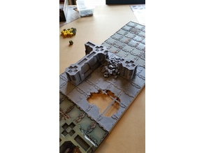 Zone Mortalis Terrain - Ruins (28mm terrain)