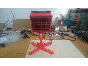 Soldering fume fan