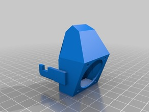 MP Select Mini Fan Shroud with Fixed Clips