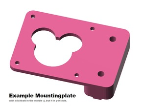 Mounting plate, fully customizable