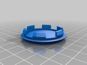 Custom center cap for wheels ( hole plugger ) 37mm
