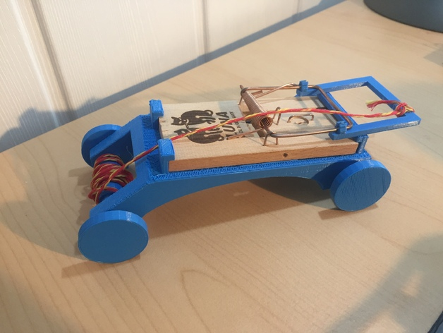 Mouse trap powered car report