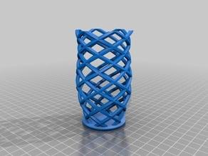 Hexagon Double Helix Tray
