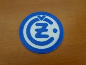CZ cezet logo/coaster