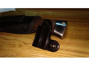 Knife mount for car