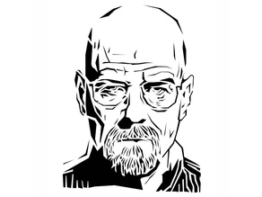 Breaking Bad stencil