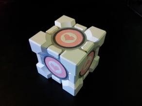 Portal 2 companion & storage cubes