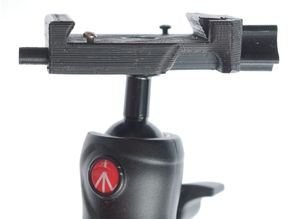 Manfrotto beFree change head to 501PL