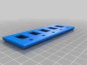 Switch box et led pour 5 accessoires pour la Ender 3