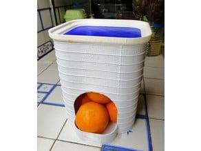 Orange Dispenser