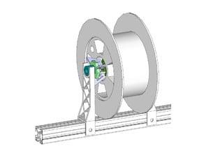 support bobine - spool holder