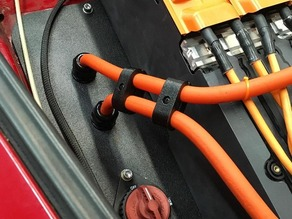 Electric Vehicle Large Cable Divider - Two Position