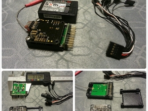 Flight Controller & receiver slim box