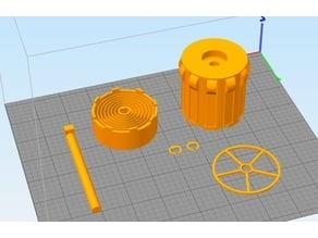 3DSolutech Parametric Rewind Spool Holder
