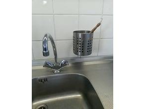 IKEA dishwasher tray wall mount