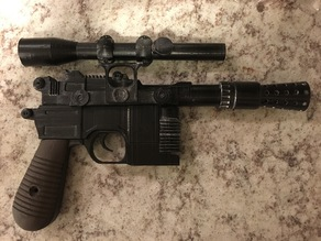 Han Solo Blaster - Small Bed Size