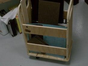 Small material cart