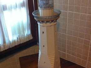 Green Cape Lighthouse Model