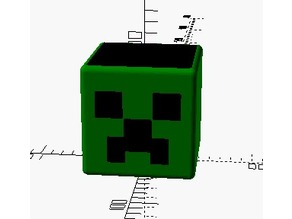 Openscad MineCraft Cup /Container