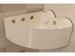 Bath Shelf Corner (round)