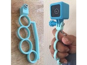 Customizable GoPro Knuckle Grip