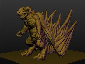 Sculptris Dummy: Dragonkin