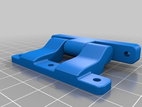 Printed Door Hinges for Railcore 2 Printers