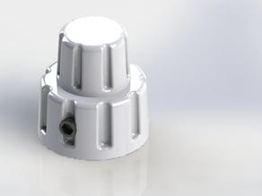Boeing Type Dual Rotary Switch Knob (Fake) 18.5mm (6.5mm hole) CUSTOM