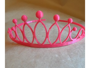 Simple Tiara (Rounded)