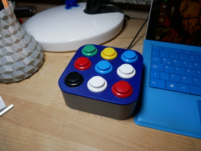 Arcade / Push Button Box / Control Box Customizealbe